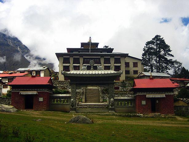 El monasterio de Tengboche