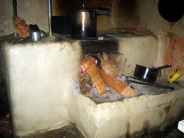 Cocina típica en el Himalaya nepalí