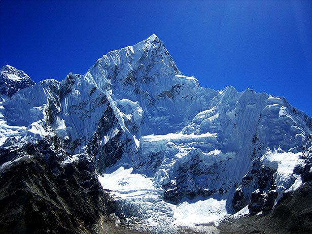 El Lhotse desde el Kala Paathar