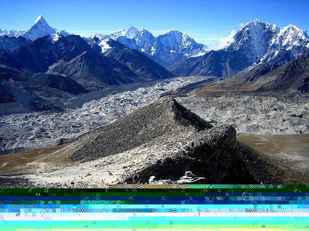 Vistas al sur desde el pico de Kala Patthar