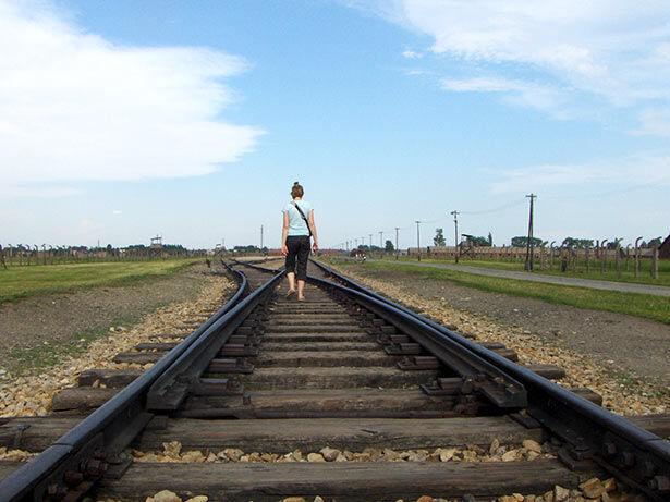 Auschwitz-tren
