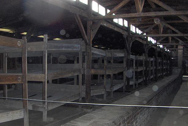 auschwitz-interior