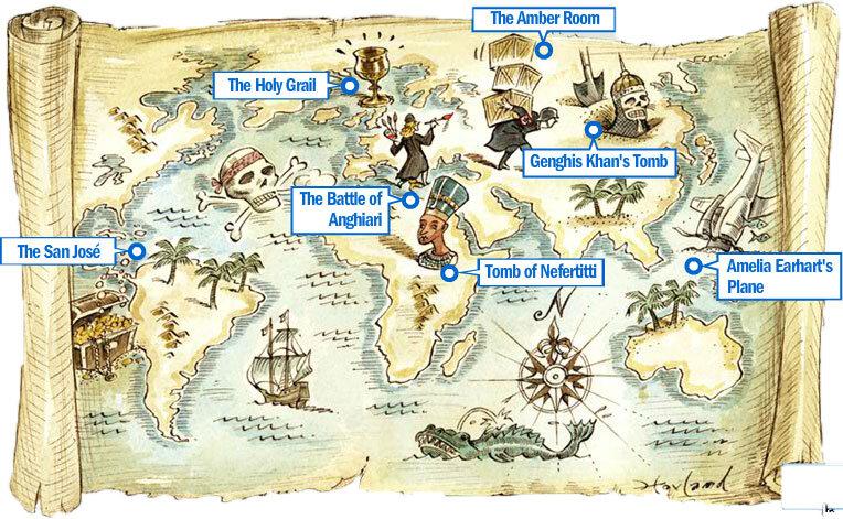 Las 7 maravillas del mundo perdidas