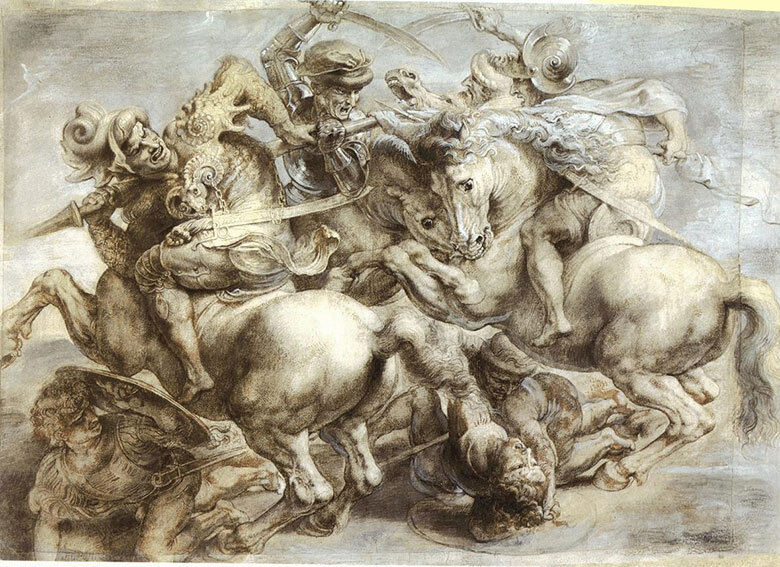 La copia de Rubens de la obra maestra de Lonardo desaparecida