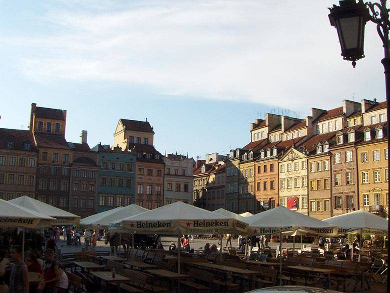 plaza mercado varsovia