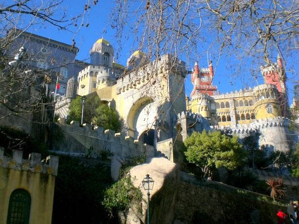 El famoso Palacio da Pena en Sintra