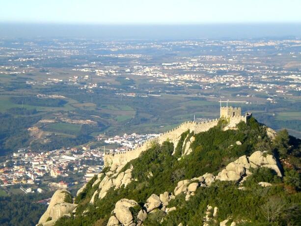 El Castelo dos Mouros en la cercana Sintra