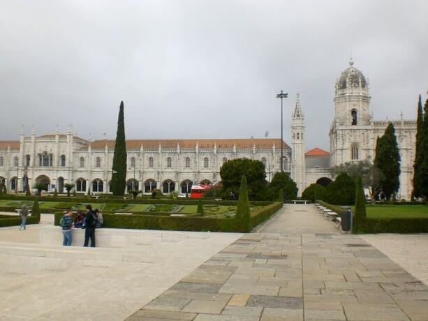 Monasterio dos Jeronimos en Lisboa
