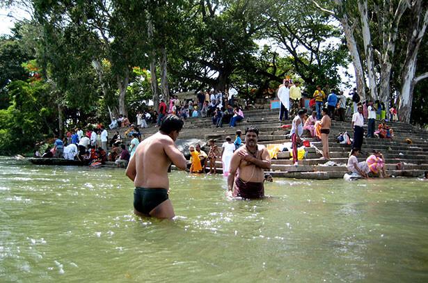 Las aguas de Srirangapatnam son consideradas sagradas entre los creyentes