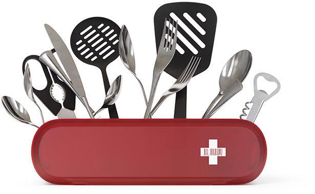 Una navaja suiza cocinera