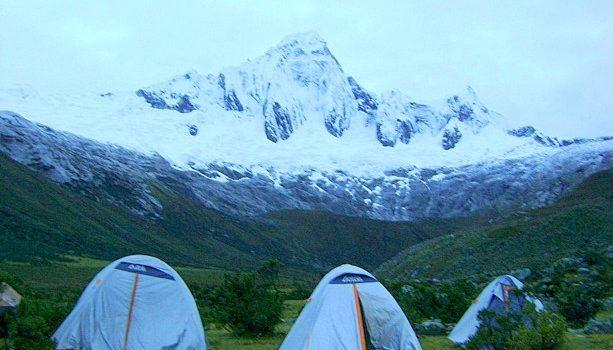 Cordillera Blanca cerca de Huaraz