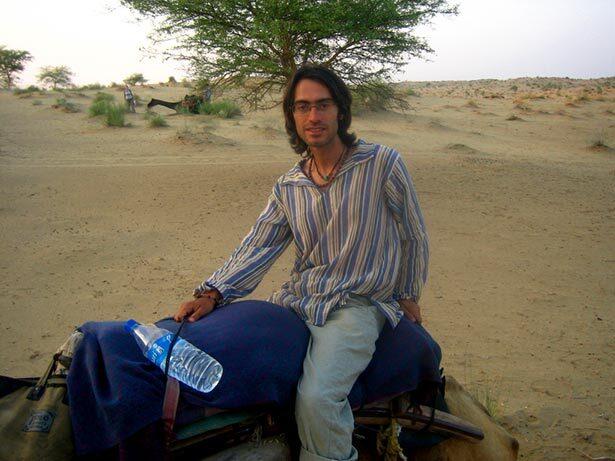Recorriendo el desierto de Bikaner, Rajasthan