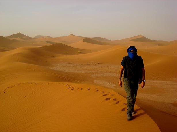 Las dunas de Erg Chegaga, Marruecos