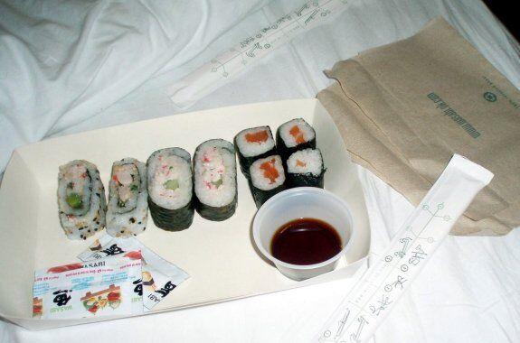 sushi avion