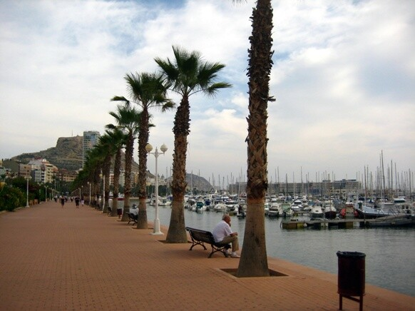 Alicante paseo maritimo