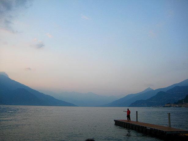 Lago de Como en Italia