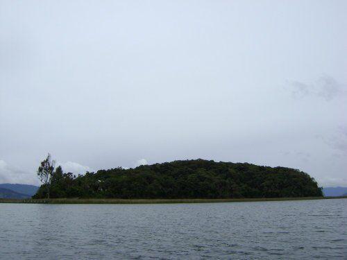 Laguna de la Cocha in Colombia