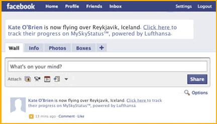 myskystatus facebook