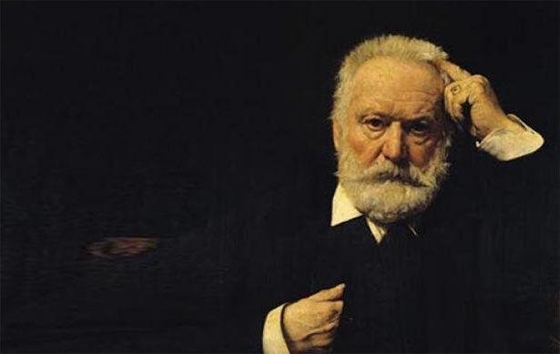 El autor francés Victor Hugo