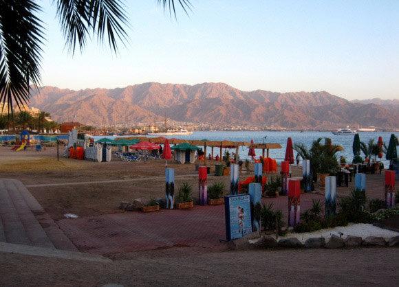 Eilat playa
