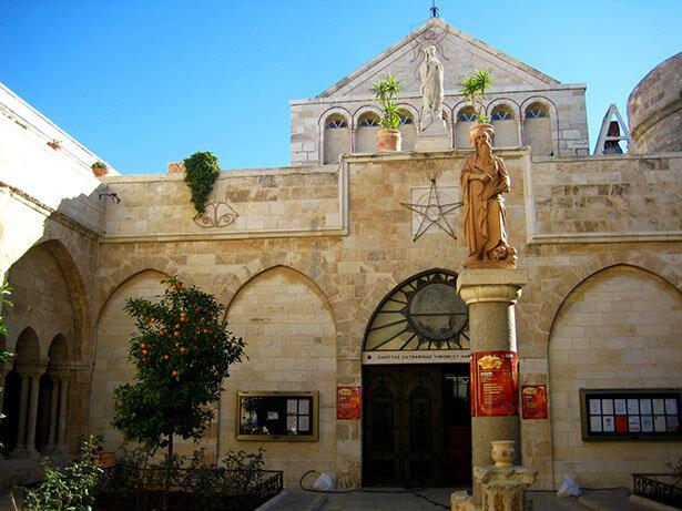 Iglesia de la Natividad en Belén