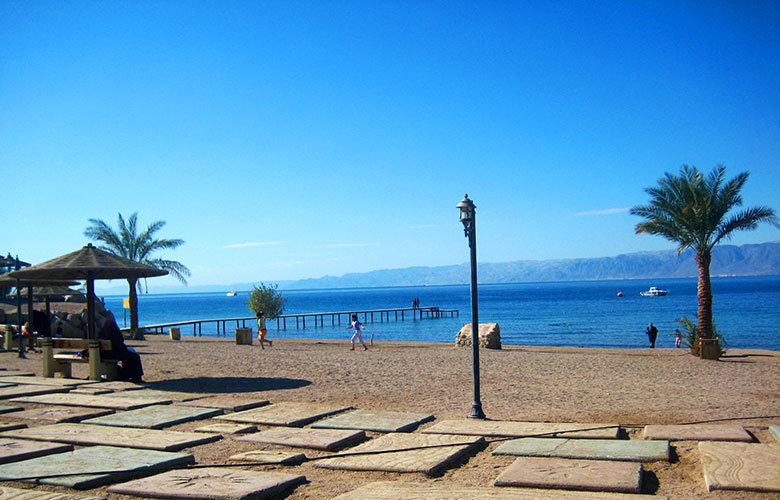 El litoral de Aqaba, extenso y con buenas infraestructuras