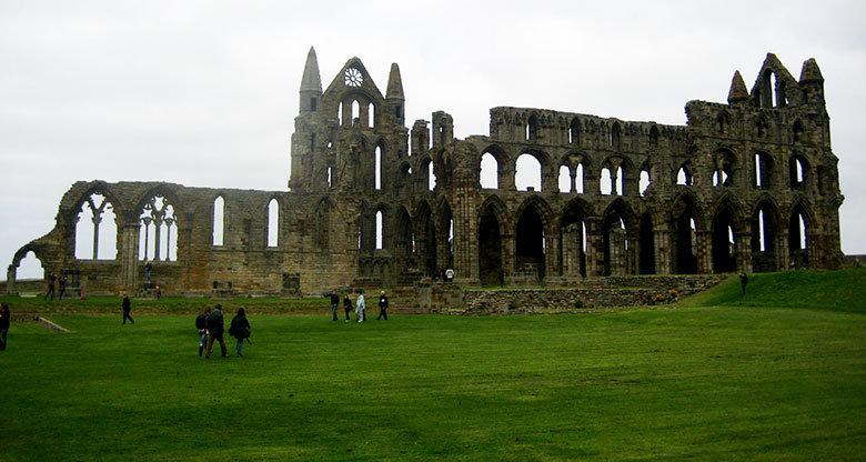 La abadía de Whitby, un lugar inspirador