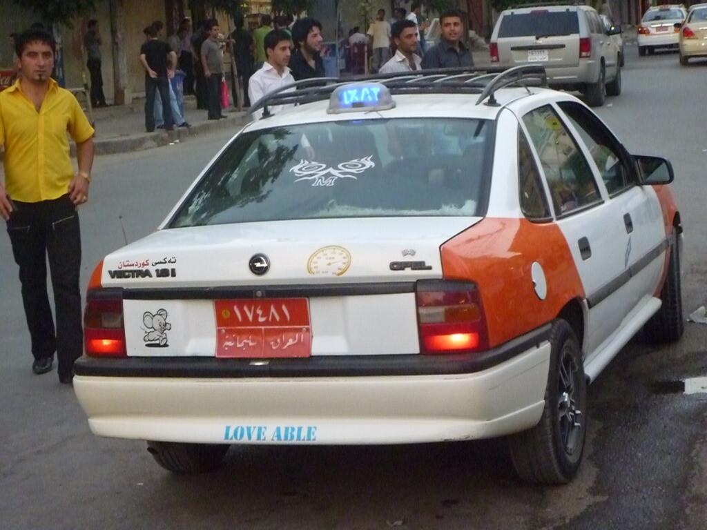 Taxi en Irak