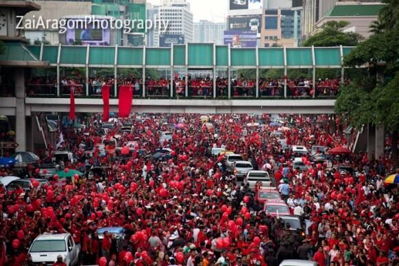 protesta bangkok
