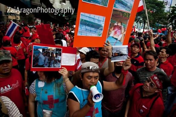 Bangkok Protesta