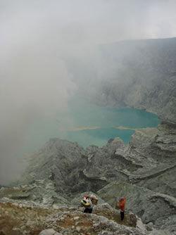 ijen volcan