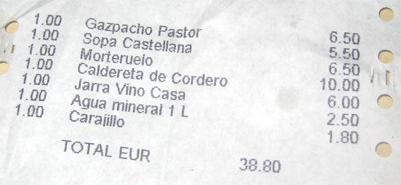 factura_restaurante