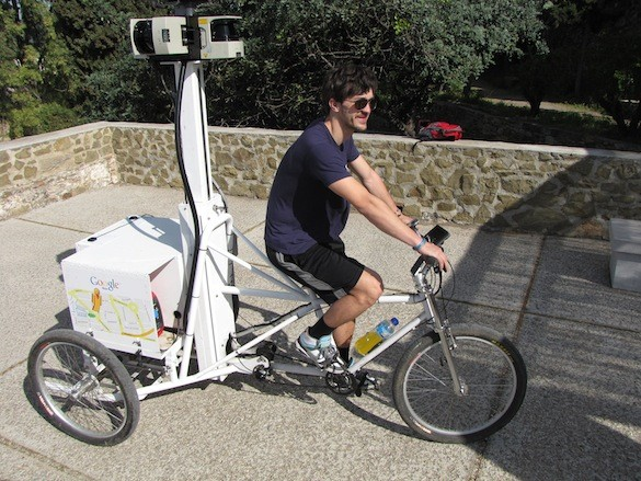Triciclo Google Street View