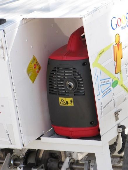 Generador del Triciclo Google Street View