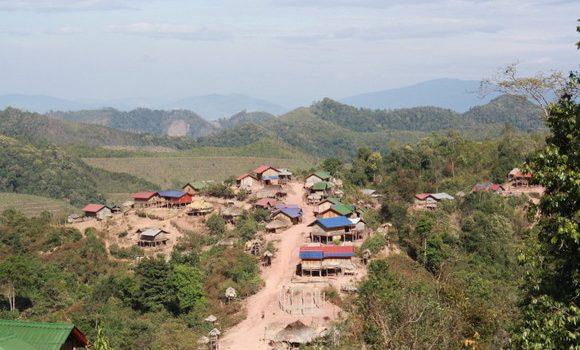 Aldea Akha en Luang Nam Tha