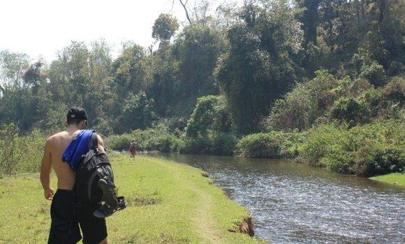 Río en los alrededores de Hsipaw