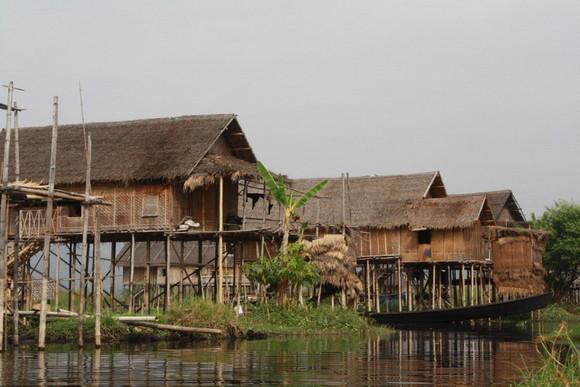 Casas en el lago de Innle
