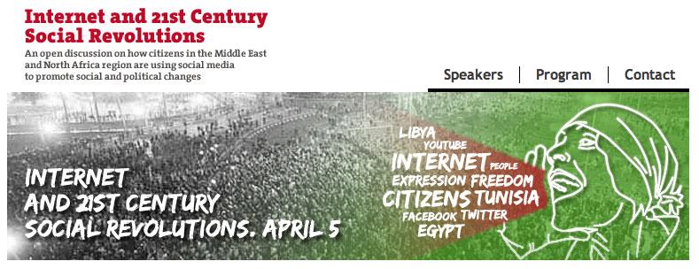 Internet y las Revoluciones Sociales del siglo XXI