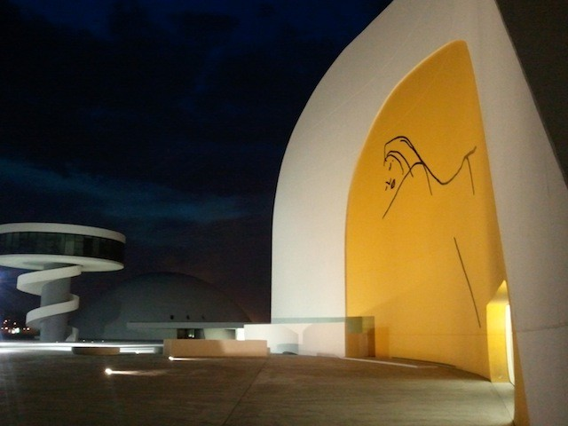 Niemeyer, Auditorio