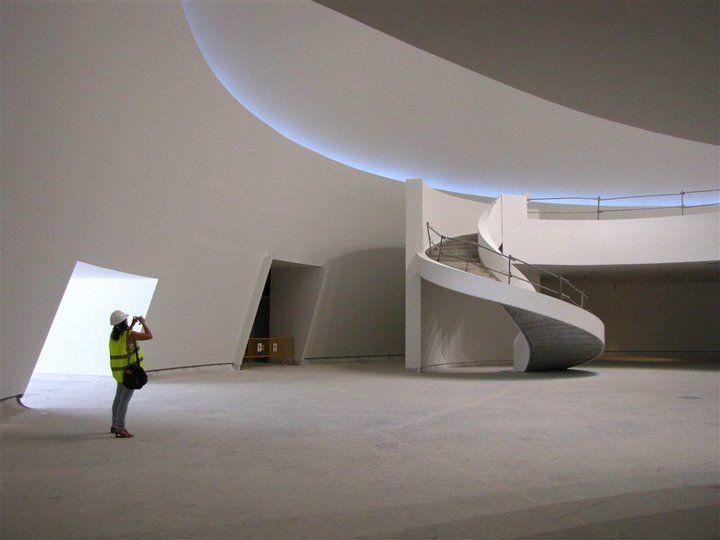 Niemeyer, la Cúpula en obras