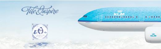 Decora un avión de KLM