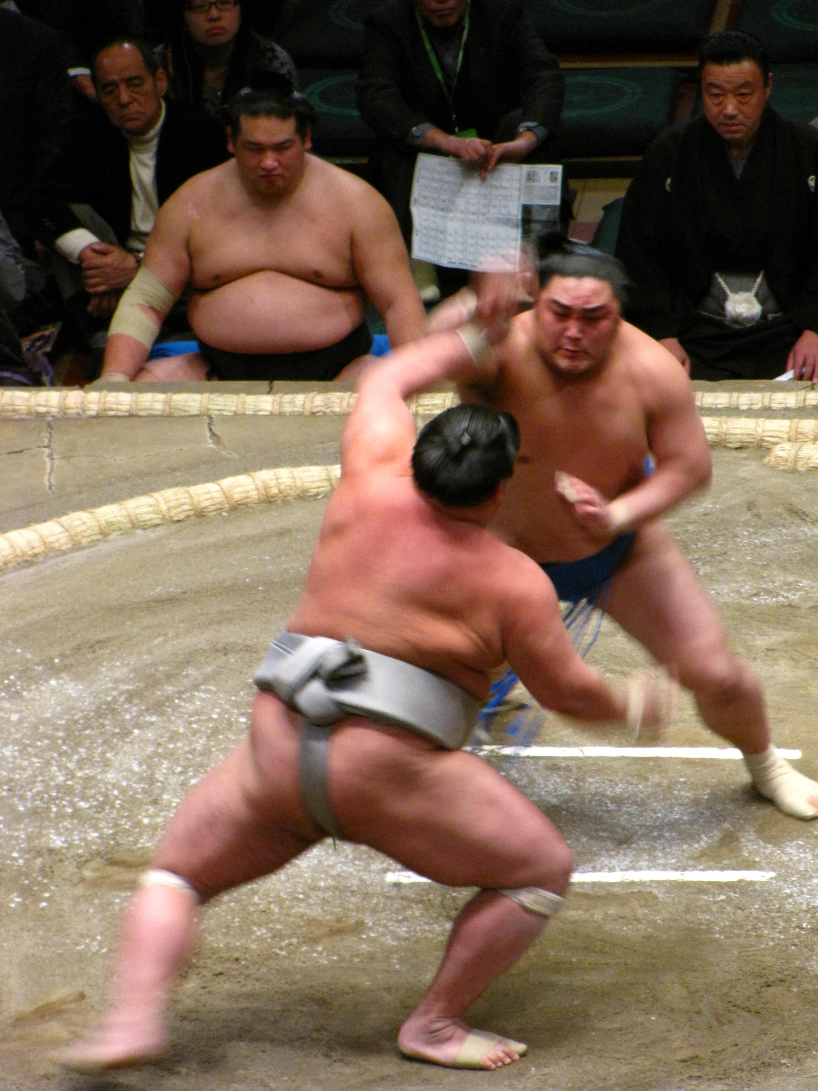 Combate de sumo en Tokio