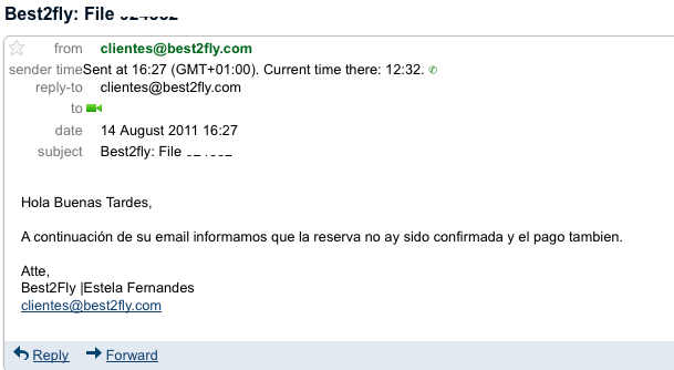 Email best2fly 14Agosto