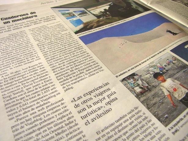 Viajablog en La Nueva España