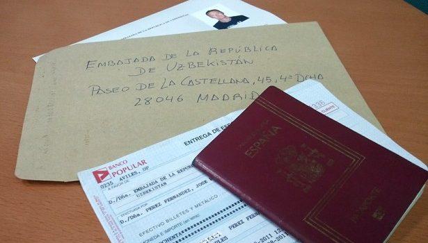 Documentos para solicitar visado a Uzbekistán