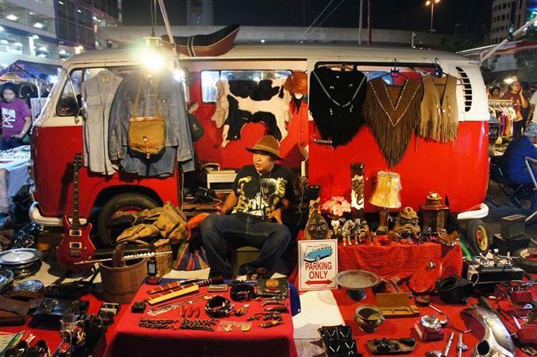 mercado vespa bangkok