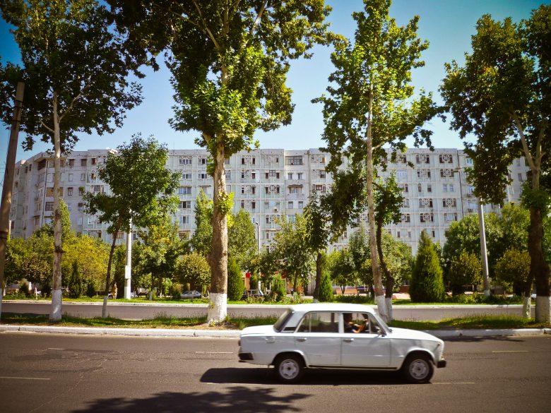 Avenida en Tashkent