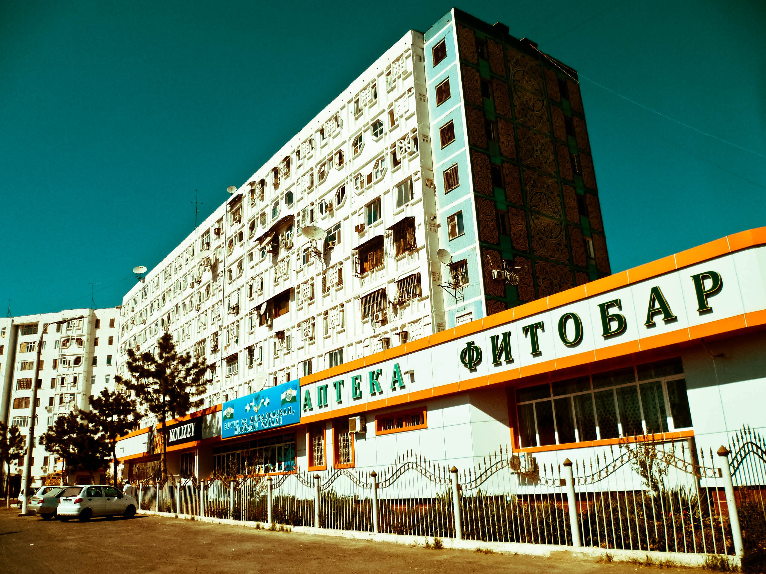 Edificios en Tashkent
