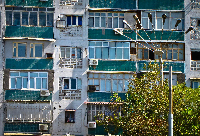Farola de 7 brazos en Tashkent