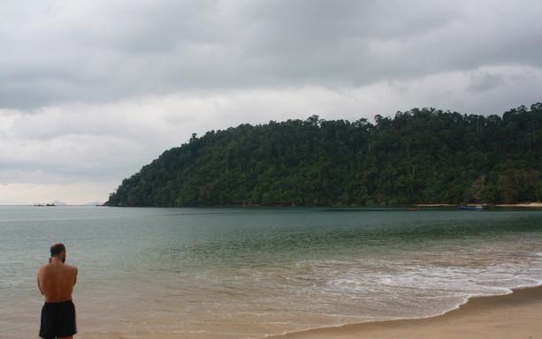Mi playa de Koh Payam en Tailandia